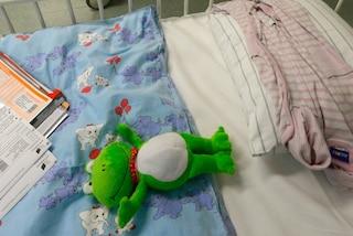 """""""Voglio tornare a essere un angelo"""": la straziante storia della bimba colpita dal cancro"""