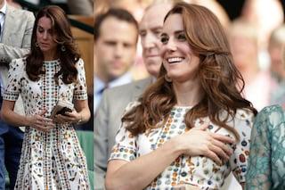 "Teschi, rossetti e bocche sexy: Kate Middleton la ""principessa rock"" a Wimbledon"