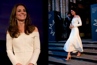 "Kate Middleton ""osa"" e indossa l'abito che lascia le spalle scoperte"