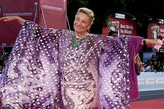 Marta Marzotto e i suoi caftani: una farfalla a colori è volata via