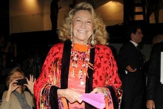"""""""Una donna ironica e libera"""": il dolce addio dei fan a Marta Marzotto"""