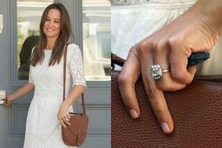 L'anello di fidanzamento di Pippa Middleton, diamanti per un valore di 200mila sterline