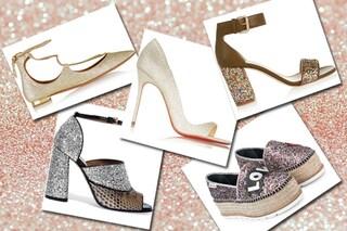 A tutto glitter... Come abbinare le scarpe lucenti per l'estate