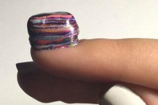 #PolishMountain: passare 100 volte lo smalto sulle unghie è una sfida social