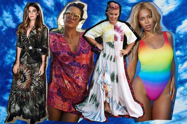 da sinistra Bianca Brandolini d'Adda, Alessandra Ambrosio, Pink, Beyoncé