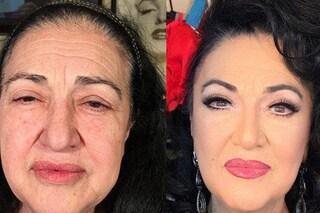 10 anni più giovani con il make up e le extension: le foto prima e dopo