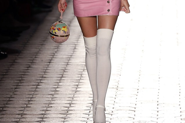 Parigine sopra il ginocchio Calze Calze Per Donna adolescente