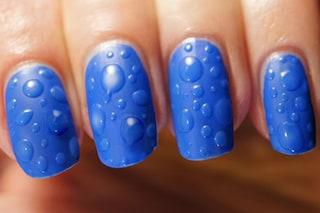 Le unghie della settimana: wet nails
