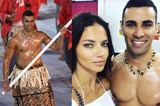 """Olimpiadi di Rio: Pita, l'atleta con i muscoli """"oliati"""" fa impazzire anche Adriana Lima"""