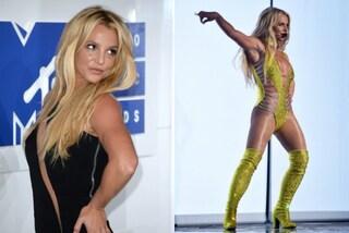 Dopo 9 anni Britney Spears torna sul palco dei VMA's: la popstar è più in forma che mai