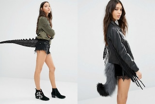 Dinosauro, volpe o gatto? Indossare una coda da animale è la moda del momento