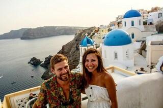 Bianca e Brett, la coppia che lascia il lavoro e viaggia in giro per il mondo