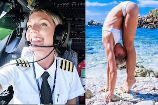 Maria, la pilota d'aerei è il nuovo fenomeno virale
