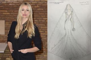 Tradizionale e sensuale: ecco come sarà l'abito da sposa di Martina Stella