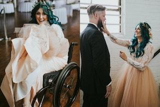 Per 8 anni è rimasta paralizzata: il giorno delle nozze percorre la navata sulle sue gambe