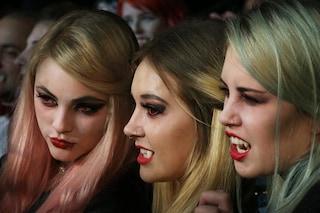 Trucco da vampira per Halloween: il tutorial per realizzarlo