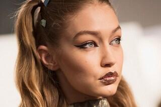 Milano Fashion Week: le labbra glitter di Fendi
