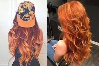 Pumpkin hair: il colore di capelli più trendy per l'autunno è lo zucca