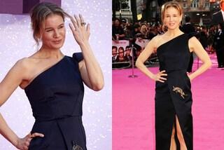 Bridget Jones è tornata: Renée Zellweger splendida con maxi spacco alla prima del film