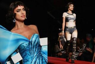 Irina Shayk diventa una bambola sexy per Moschino