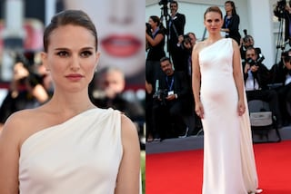 Natalie Portman a Venezia: l'abito bianco evidenzia un pancino sospetto