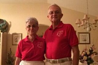 Ed e Fran, la coppia che da 52 anni veste in coordinato