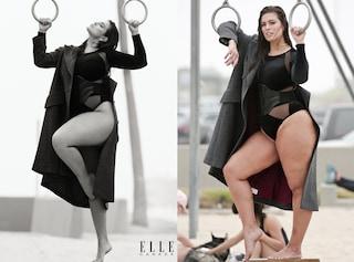 Ashley Graham in copertina senza cellulite: il ritocco scatena le polemiche