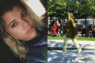 Sofia, la figlia di Lionel Richie debutta in passerella alla sfilata di Kanye West