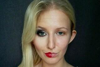 """La """"doppia faccia"""" di una donna: Caloria mostra il potere del make-up"""