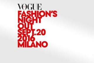 Vogue Fashion Night Out 2016, i proventi devoluti ai terremotati di Amatrice