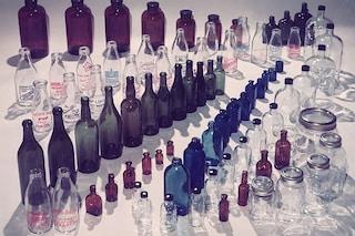 Come pulire le bottiglie di vetro con rimedi naturali
