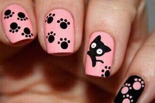 Le unghie della settimana: paws nail art, la manicure con le zampine