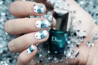 Le unghie della settimana: waterfall manicure