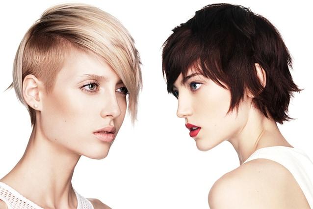 Immagini di tagli di capelli corti e ricci