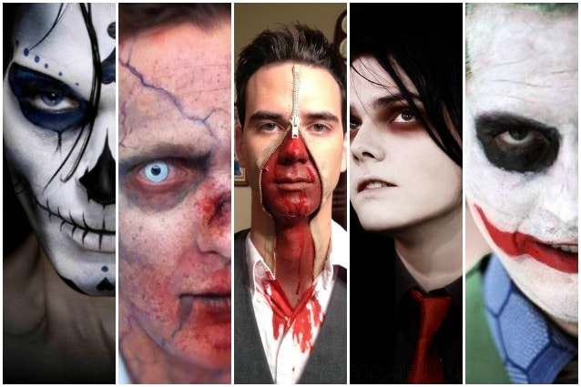 1. Zombie  uno dei make up più classici per la notte di Halloween c1614ba69008