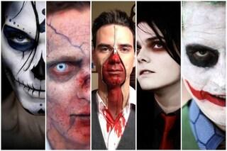 Trucco di Halloween da uomo: idee make up da copiare