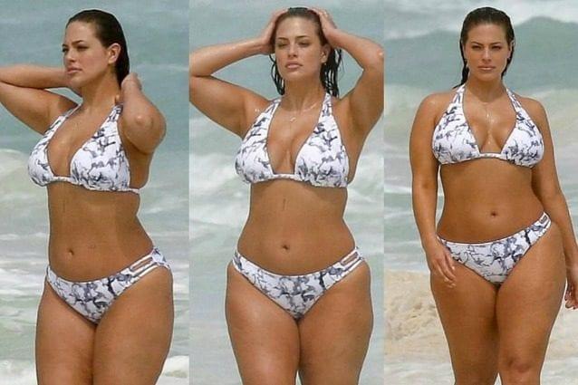 Sognare Costume Da Bagno Bianco : Ashley graham sexy in bikini: la curvy mette in mostra le forme