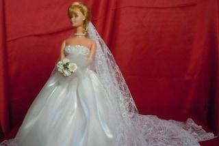 Ricrea gli abiti delle spose indosso alle Barbie