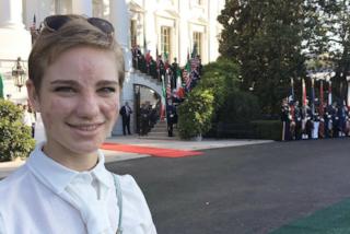 """Bebe Vio alla Casa Bianca: """"Non ho avuto il coraggio di chiedere un selfie a Obama"""""""