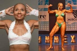 La body builder più anziana del mondo: Ernestine ha 80 anni e dei muscoli d'acciaio