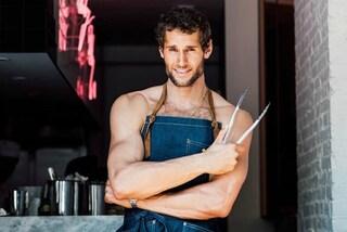 Muscoli e fornelli: Franco è lo chef-modello più sexy del web