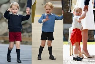 Perché il principino George indossa sempre i pantaloni corti?