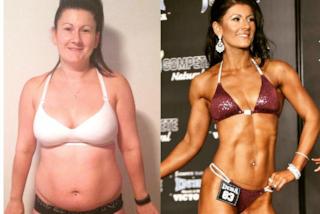 """""""Mi sentivo grassa e disgustosa"""": perde quasi 40 chili con il bodybuilding e torna felice"""