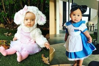 Agnellino e Alice nel paese delle meraviglie: il primo Halloween delle figlie delle star