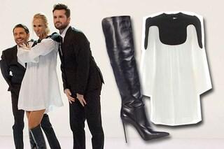 """Ilary sceglie Victoria Beckham: la Blasi a """"Le Iene"""" con un abito dell'ex Spice"""