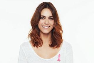 """Miriam Leone madrina della campagna contro il cancro al seno: """"Fate prevenzione"""""""