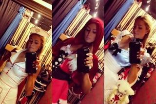 Infermiera sexy o liceale: prove costume per Halloween (scontate) di Paris Hilton