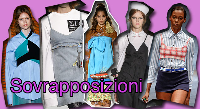 Da sinistra MSGM, Au Jour Le Jour, Stella Jean, Vivetta, Prada