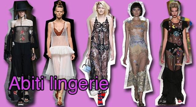 Da sinistra Blugirl, Wunderkind, Fendi, Vivetta, Leitmotiv