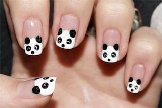Le unghie della settimana: panda nails